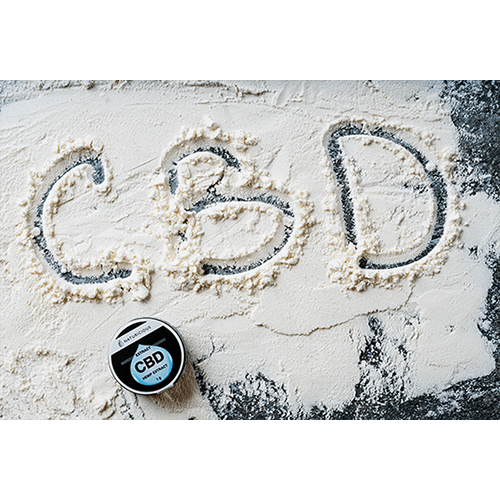 cbd isolated powder
