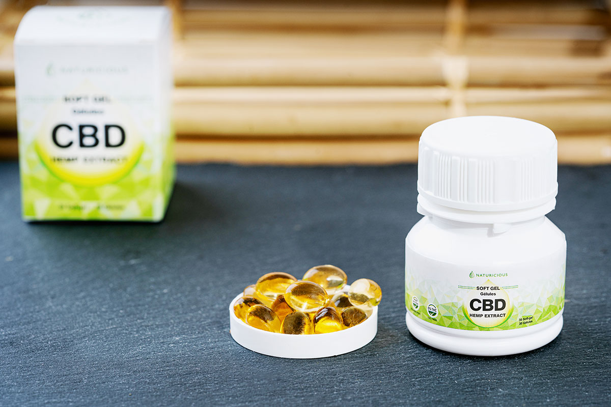 soft gel gelule cbd broad spectrum cannabinoids